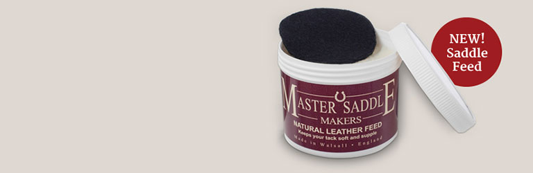 New - Natural Leather Feed
